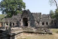 Preah Khan Temple (12th Century) in Angkor Wat