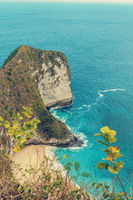 dream Bali beach at Nusa penida