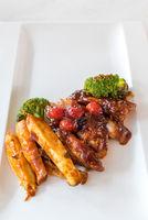 Pork Rib Grilled