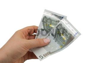 5 Euro Banknoten