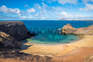 Papagayo Beach, Lanzarote, Canary Islands, Spain