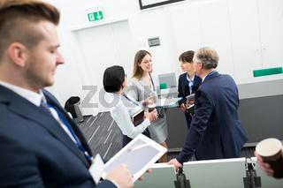 Business Team in einer Besprechung