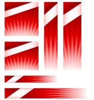 Light burst website banner ads