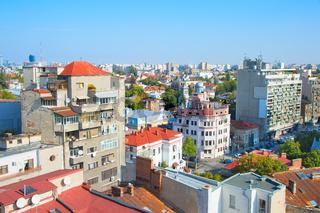 Bucharest cityscape, Romania
