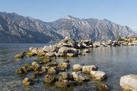 Der Gardasee in Venetien, Italien