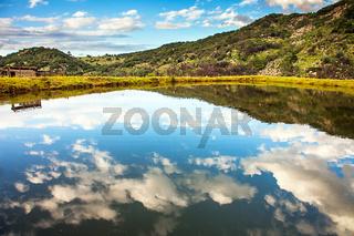 Landschaft irgendwo in Südafrika