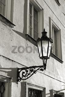 Straßenlaterne in Prag