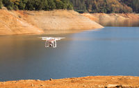 UAV Unmanned Drone Flight Flying Lake Shasta California