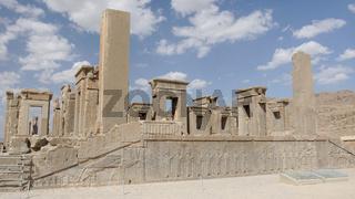 Ruinen der antiken Stadt Persepolis, Iran, Asien