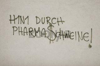 Graffiti, H1N1