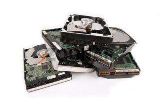 scrap hard disk