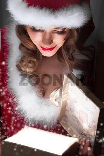 Glowing Christmas gift