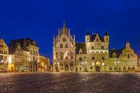 Grote Markt in Mechelen - Belgium