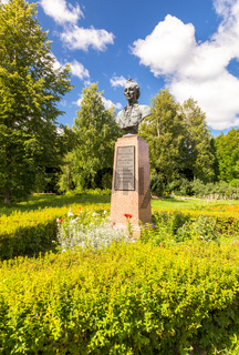 Monument to Alexander Suvorov in his estate