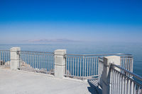 Antelope Island on the Great Salt Lake,USA.