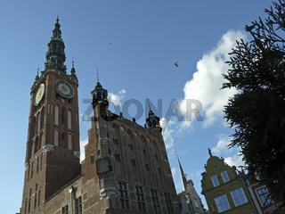 Turm des Rechtstaedtischen Rathauses in Danzig