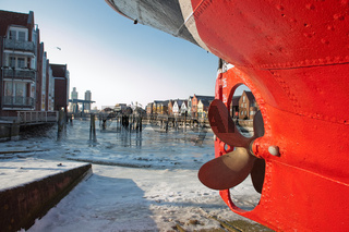 Stillstand -  Eiszeit in Husum