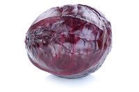 Blaukraut Rotkohl Kraut Kohl frisch Gemüse Freisteller freigestellt isoliert