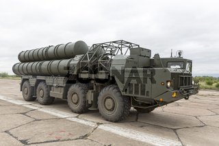 Antiaircraft missile complex