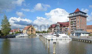 Stadthafen in Neustrelitz,Mecklenburgische Seenplatte,MVP,Deutschland