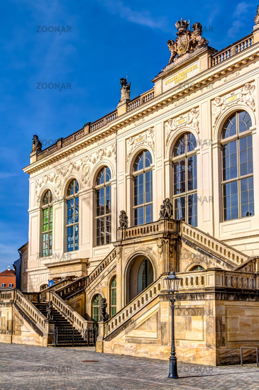 Verkehrsmuseum in Dresden - Johanneum