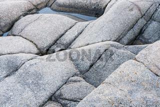 Felsstrukturen, Hoega Kusten, Schweden