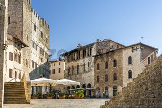 Massa Marittima, Stadt aus dem Mittelalter, Toskana, Italien