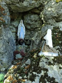 Gebetstaette auf dem Buergle, Schwaebische Alb