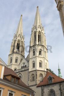Die Peterskirche in Görlitz, Deutschland