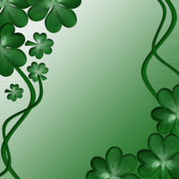 Card for design on Saint Patrick Day