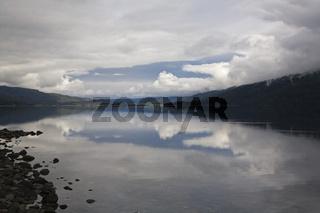 See Lago Futalaufquen, NP Parque Nacional Los Alerces, Patagonien, Lake Lago Futalaufquen, Patagonia, Argentina