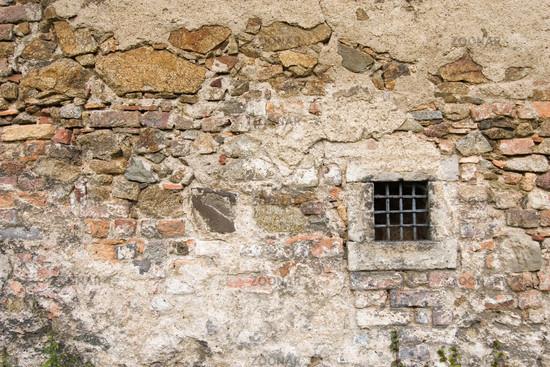 Foto Steinwand mit Fenster Bild #716881