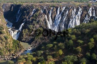 Ruacana Faelle, Kunene Fluss, Kaokoveld, Namibia, Afrika, Ruacana Falls, Cunene River, Africa