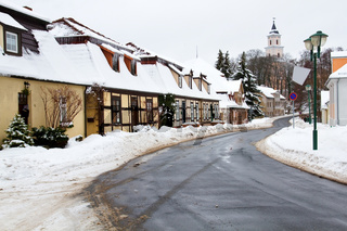 Das Dorf Boitzenburg in der Uckermark