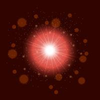 Star burst red glitter texture.