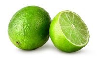 Lime whole and half