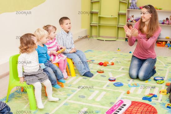 Games in kindergarten