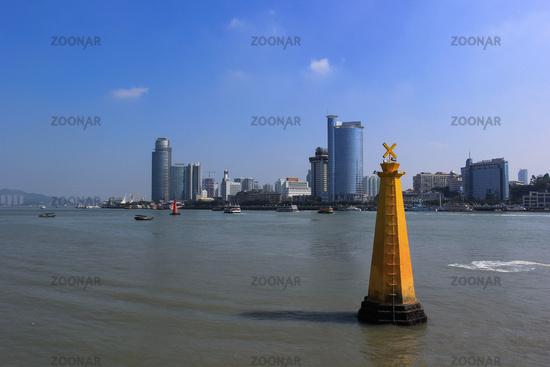 Lujiang River Cityscape