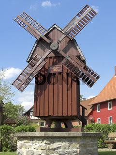Nachbau einer Windmühle