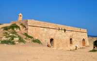 Rethymno Fortezza fortress cavalier