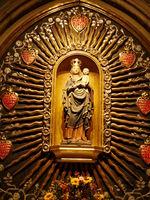 Madonna im Strahlenkranz im Dom zu Regensburg,Bayern,Deutschland