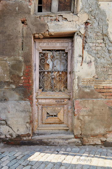 Eingangstür in Tiflis, Georgien