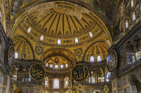 Turkey Istanbul Inside Saint Sophia Church