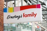Ernstings Family brand logo sign