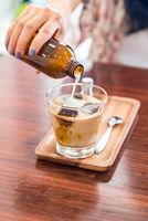 Coffee Cube Latte