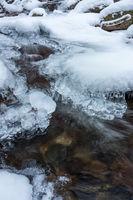 Ilsetal im Winter bei Schnee