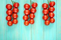 Cherry tomatos branches