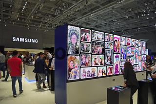 Ausstellungshalle der Firma Samsung , Internationale Funkausstellung IFA, 2017, Berlin, Deutschland