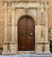 greek church door