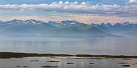 Mountain view in Molde, Norway
